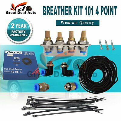 Uni Diff Breather Kit 101 4 Point Gearbox for Toyota Nissan Patrol GU GQ 4X4