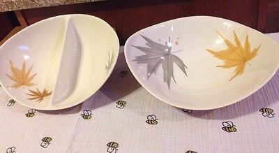 Iroquois China By Ben Seibel HARVEST TIME; 1 Service Bowl & 1 Divided Service