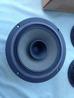 "HempTone HT8FR-4 8"" Raw Full Range Dual Cone Replacement Driver Speaker (NIB)"