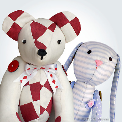 SOFT TOY SEWING pattern for a 15\
