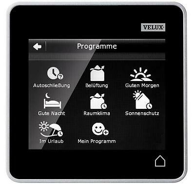 Original Velux INTEGRA Control Pad Touchscreen Bedienung Touchpad KLR 200