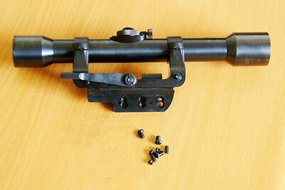 Mauser K98 Sniper ZF39 Scope & Side Mount Reproductions All Steel RSM