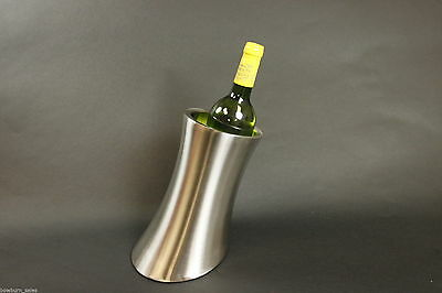 Wine Cooler Bucket - Stainless Steel Drinks Chiller, Party Gift Single Bottle