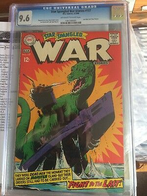 Star Spangled War Stories #137 CGC 9.6 Best Copy In World