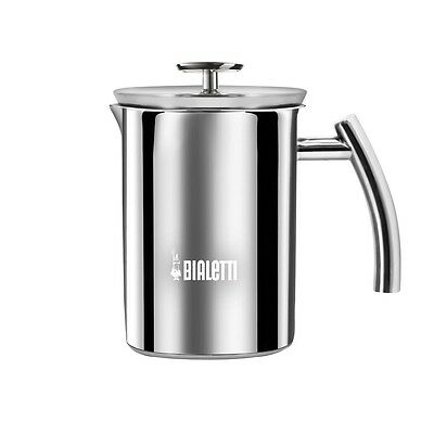 BIALETTI Milk Frother Montalatte 1 Litro | Acciaio 330ml di Cappuccino Maker