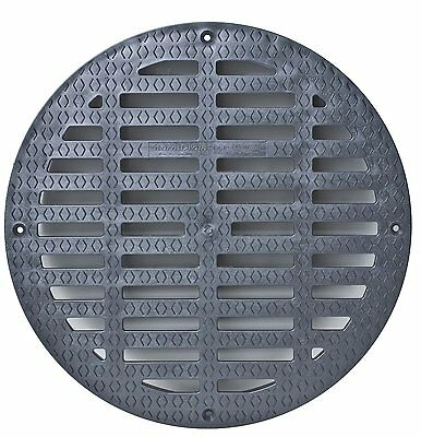 "Storm Drain FSD-3017-G20B 20"" Round Flat Grate for Catch Basin"