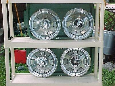 """1965-66 PLYMOUTH FURY 14"""" FULL WHEEL COVER SET DAILY DRIVER SET"""