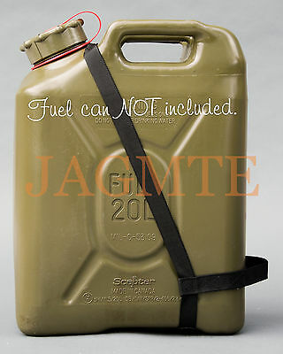 EASY POUR STRAP Fuel Black for your Scepter MFC Military Fuel Gas Jerry Can