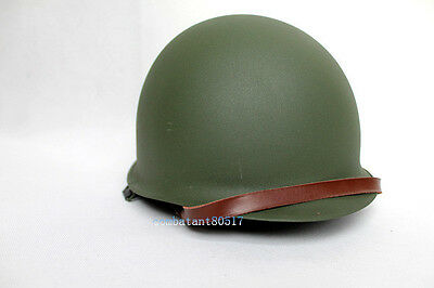 Collection Ww2 Us Military M1 Double-Deck Green Helmet Replica