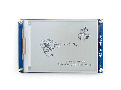 4.3inch e-Paper Panel 800×600 E-Ink LCD Display Module 128MB Flash Serial Port