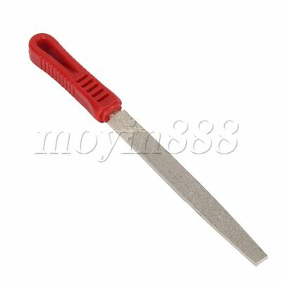Metal Flat Diamond Coating File 180 Grit  for Jewelers Tool Steel Stone Glass