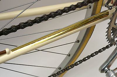 Velobitz Vintage, Retro Gold Effect Vinyl Chainstay Protector