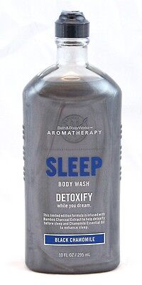 Bath & Body Works Aromatherapy Sleep Black Chamomile Detoxify Body Wash