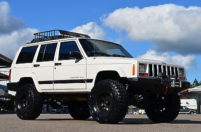 Jeep : Cherokee LIFTED 4WD 2000 jeep cherokee sport 4 x 4 xj florida one owner fully built lifted wrangler nr