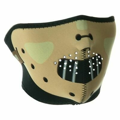 Hannibal Lecter Neoprene Half Face Mask for Biker Skier