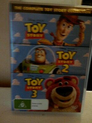 Toy Story 1, 2 &3 - 3-Movie Collection DVD Set