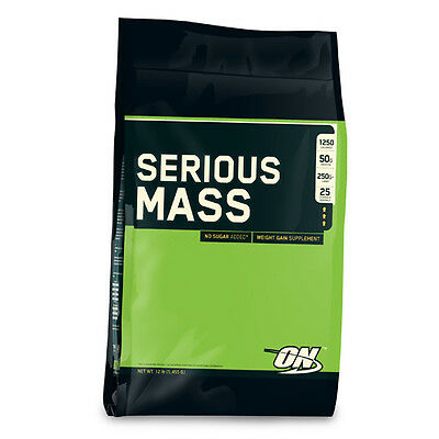 Optimum Nutrition Serious Mass5.45kg - Vanilla