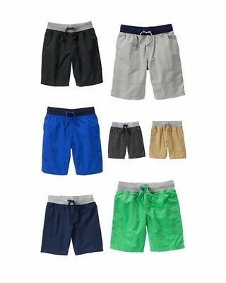 NWT Gymboree Boys Lightweight Drawstring Pull-On Shorts Short NEW U-Pick 8 10 12