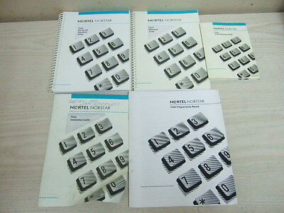 Nortel Norstar Phone System Voice Mail Flash Set Up Installation Operation Guide
