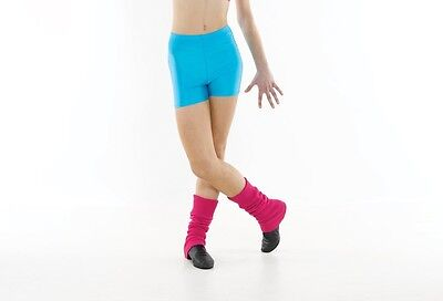 Nylon Lycra Hotpants All Colours Gymnastic/Dancing/Jazz/Disco Black/Pink/Blue