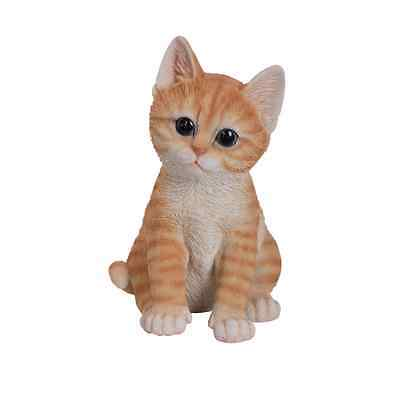 Brand New Ginger Kitten Garden Ornament