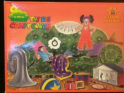 1995 Fundex Puzzles The Big Comfy Couch 35 Piece Floor Puzzle