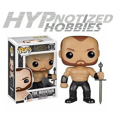 Funko Pop Television Game Of Thrones Series 5 The Mountain 31