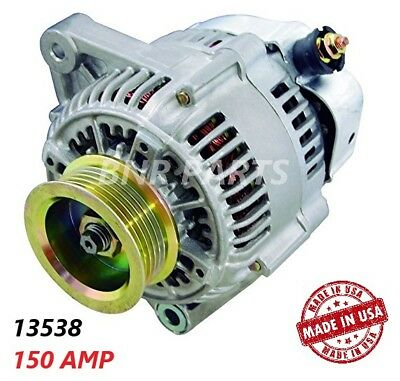 150 Amp 13433 Alternator Acura Integra 1.8L 1.7L High Output Performance HD USA