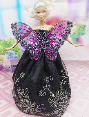 Cute GORGEOUS Handmade The original clothes dress for barbies doll C343