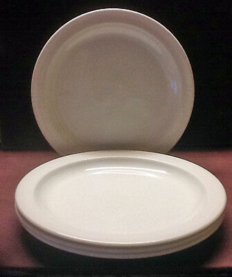"""4 Midwinter Stonehenge White BREAD AND BUTTER PLATES 7"""" - England"""