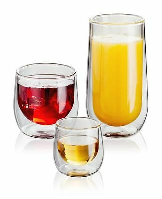 Judge Double Walled Tumblers Highball Whisky Shot Glasses, set of 2