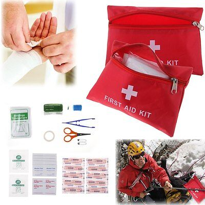 35 Pieces 12 in 1 First Aid Emergency Kit Home Office Car Travel Camping Medical