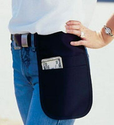 3 new Cocktail • Waiter / Waitress Money Pouch Black Fits Small Tablets Black