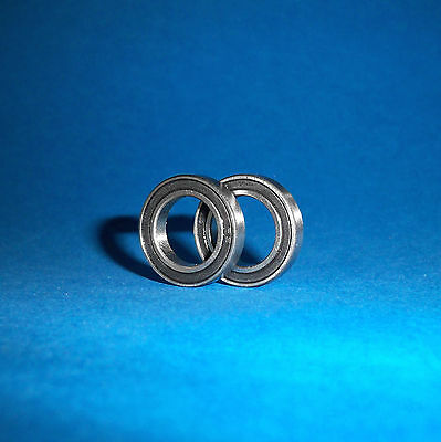 2 Kugellager 6903 / 61903 2RS / 17 x 30 x 7 mm