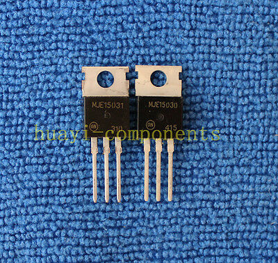 10pairs OR 20pcs MJE15030/MJE15031 E15030/E15031 POWER Transistor TO-220