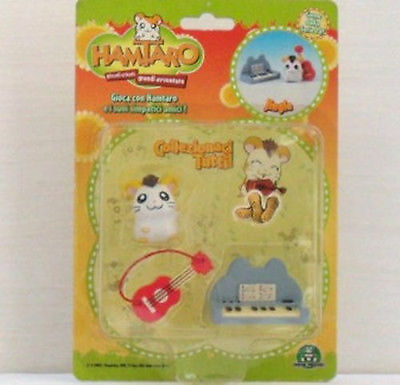 Hamtaro - Blister Di Jingle-Con Accessori-Originale - Giochi Preziosi
