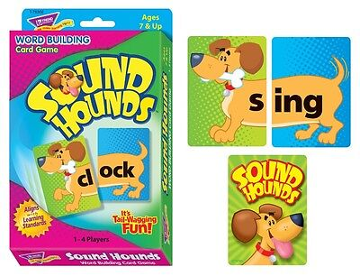 Sound Hounds Word Building Card Game Speech Therapy Special Needs ESL Autism