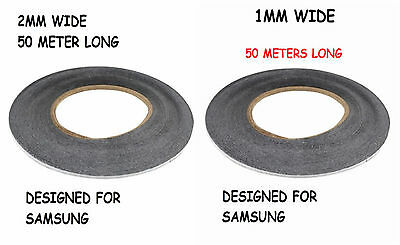 1mm and 2mm x 50 M Double Sided extremly strong Tape adhesive For LCD Glass