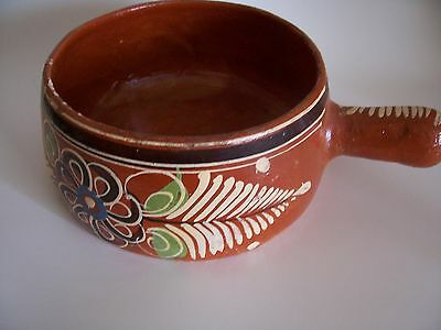 Vintage 1950's Red Clay Mexican Cooking Pot