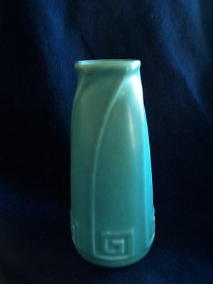 "BEAUTIFUL Rookwood Pottery Arts & Crafts 1927 ""GREEK KEY"" 6"" Vase: NICE!!!"