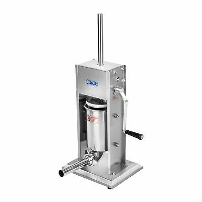 New Stainless Steel Sausage Maker Sausage Filling Machine 3L 2-Speed Gearbox