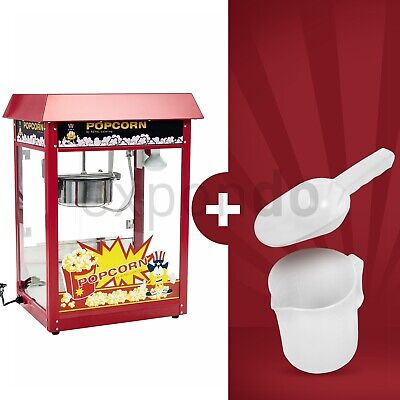 Popcorn Maker Machine 8 Ounce Large Popcorn Making Popping Corn Kernels 1600 W