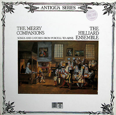 The Merry Companions Hilliard Ensemble 1981 NEAR MINT (Saga 5477)