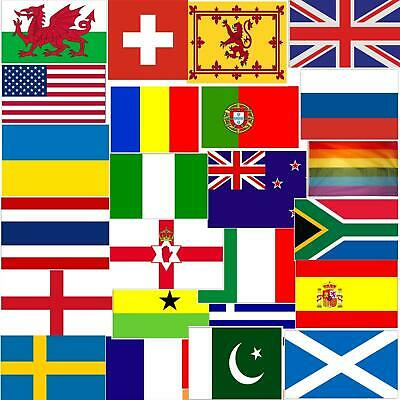 Large 5X3FT World Flags National Country Flag Rugby Football Cricket Decorations