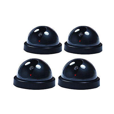 Dummy Fake Surveillance CCTV Security Dome Camera Flashing Red LED Light Best