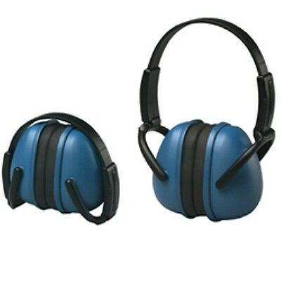 Blue Ear Muffs Hearing Protection Folding & Adjustable Work//Hunting/Shooting