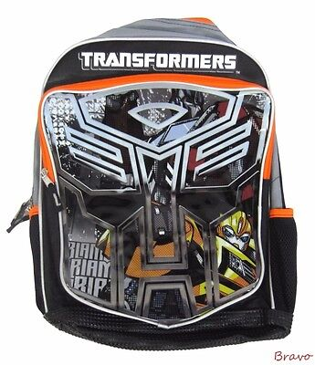 "NWT Transformers 16"" Kids Large Backpack and Boys School Book Bag US SHIP!!!!!!!"