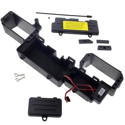 RADIO & BATTERY TRAY, MOUNTS, SWITCH, COVER & CLIPS - Losi 1/5 Desert Buggy XL