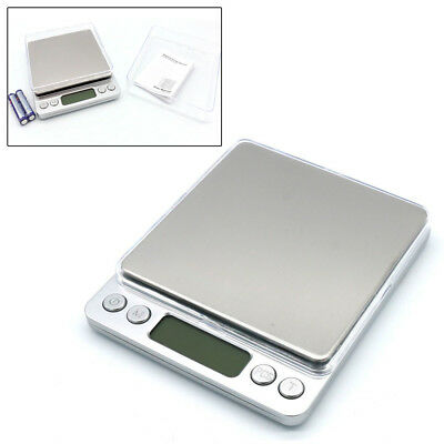 0.01-500G Precision Digital LCD Scale GOLD SILVER COIN POCKET JEWELRY GRAM HERB