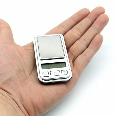 0.01g -200g Mini Jewellery Digital Pocket Gram Gold Coin Weighing Scale+Battery